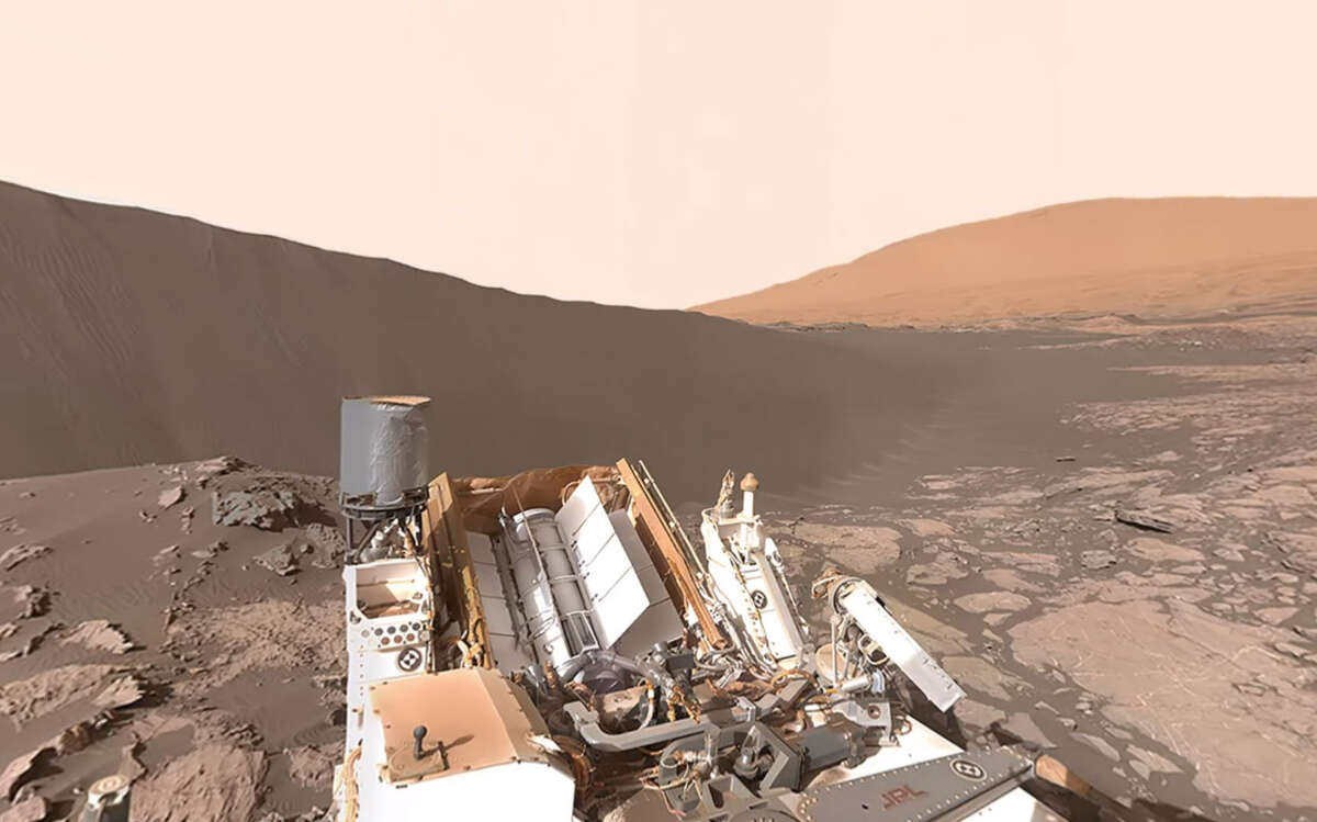 NASA's Curiosity Rover offers a 360-degree, interactive video of Namib Dune. Click the slideshow to see some of the odd things spotted on Mars.