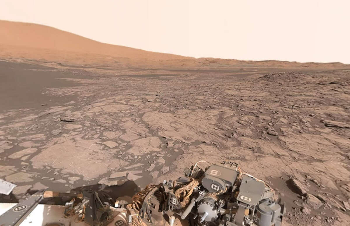 NASA's Curiosity Roveroffers a 360-degree, interactive videoof Namib Dune.Click the slideshow to see some of the odd things spotted on Mars.