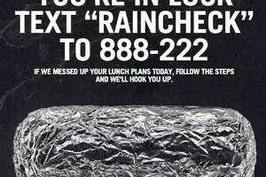 Get a coupon for a free Chipotle burrito (claim today only) - Photo