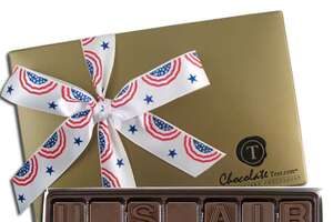 Personalized chocolate for troops - Photo