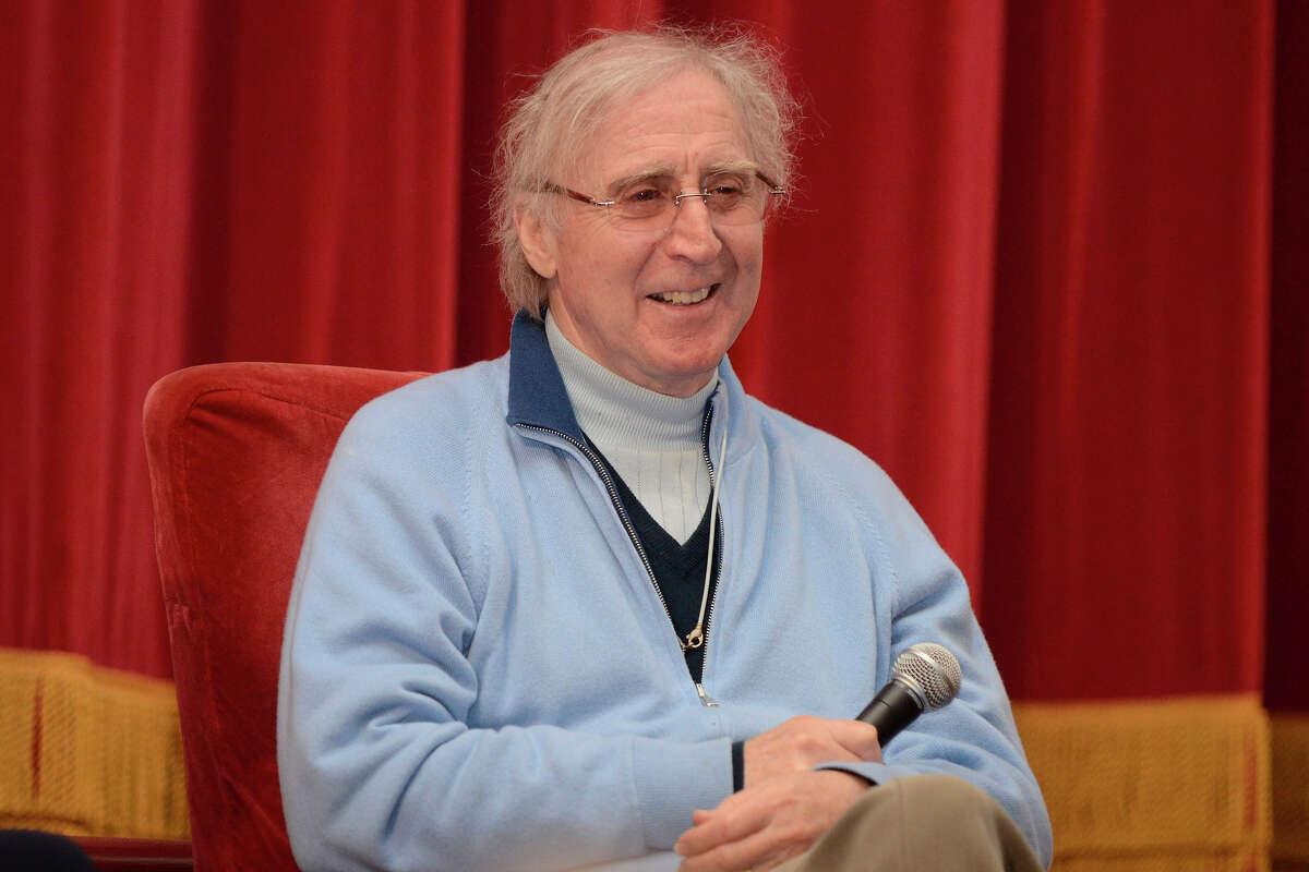 """Stamford, Conn., resident Gene Wilder seen answering questions after a screening of his 1976 comedy film """"Silver Streak"""" in 2011 in Stamford. Wilder passed away in August 2016 after complications from Alzheimer's disease."""