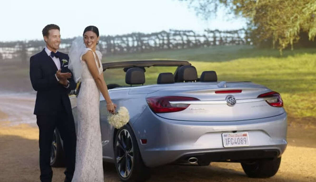 Buick Cascada Even with the help of model/actress Emily Ratajkowski and NFL star Odell Beckham Jr. Buick's Cascada commercial spends more time on the crowd than the actual car and misses the mark of showing off a new, stylish vehicle. Watch the commercial here.