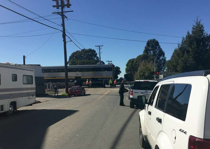A man was struck and killed on Monday by an Amtrak train along the Capitol Corridor in Berkeley.