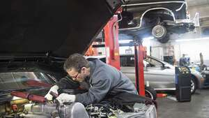 Automotive service technicians and mechanics Average annual wage: $46,963 Estimated employment: 5,044