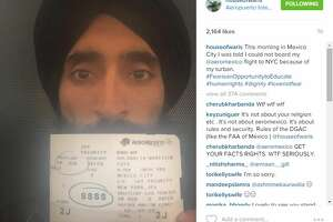 Actor wearing a turban barred from flight - Photo