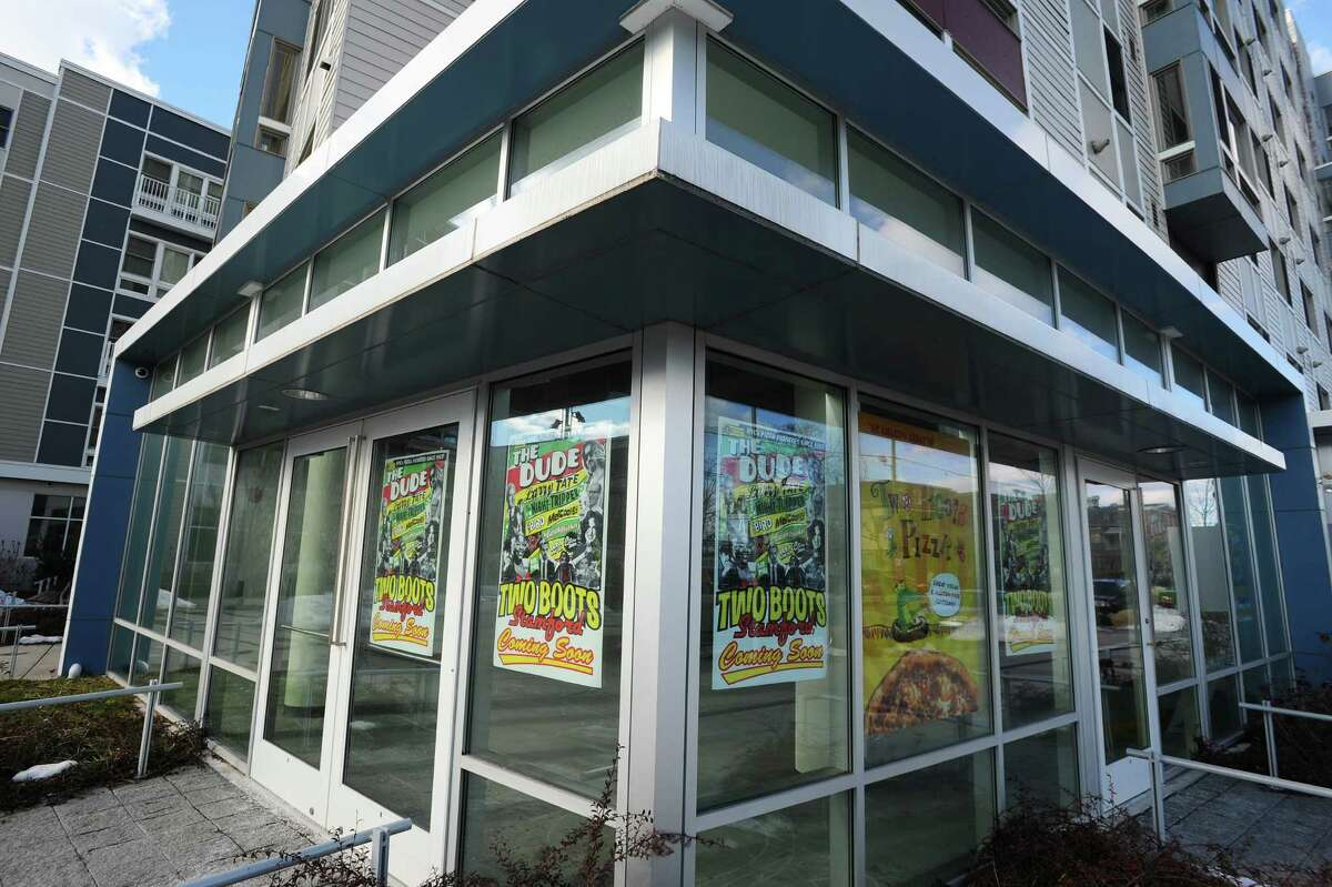 Two Boots, which launched in 1987 in New York City with an original concept to combine Cajun cuisine and pizza, is opening its second Fairfield County location in the South End neighborhood of Stamford, with its pizza menu now an eclectic mix of varieties with titles pegged to pop culture.