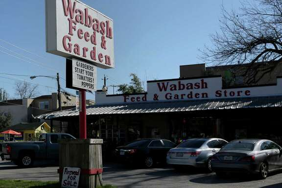 The Wabash Feed & Garden Store is a destination for serious gardeners who drive in from Freeport, Sealy and Brenham.