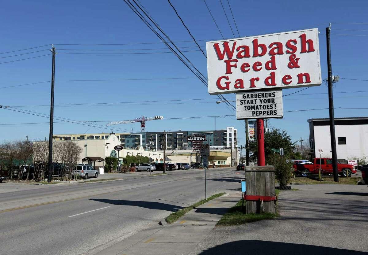 The Wabash Feed & Garden Store is seen Friday, Feb. 5, 2016, in Houston. ( Jon Shapley / Houston Chronicle )