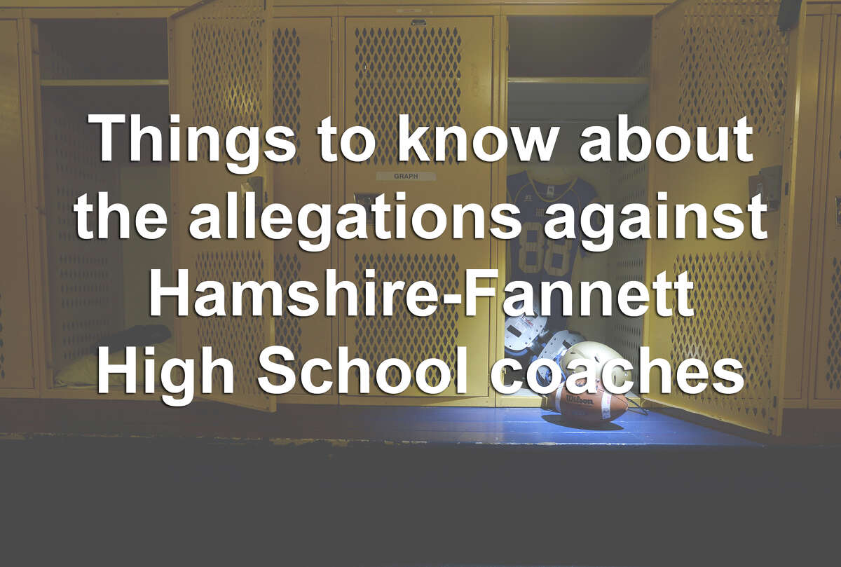 In January, parents of Hamshire-Fannett High School athletes were forced to participate in grueling workouts, which led to the hospitalization of some of the athletes. The allegations are under investigation by local and state authorities. Click through the slides to learn what we know so far.
