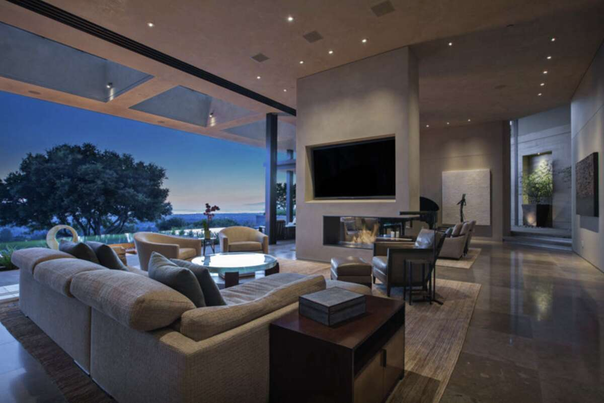 The Los Altos Hills home is listed as a