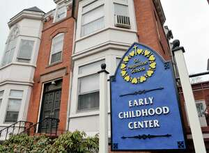 A view of the St. Augustine Early Childhood Center on Tuesday, April 21, 2015, in Troy, N.Y.  The St. Augustine Early Childhood Center will be re-named the Kelly T. Sanvidge Catholic Childhood Center, for his donation of $250,000.  St. Augustine school was founded in 1869.  (Paul Buckowski / Times Union)