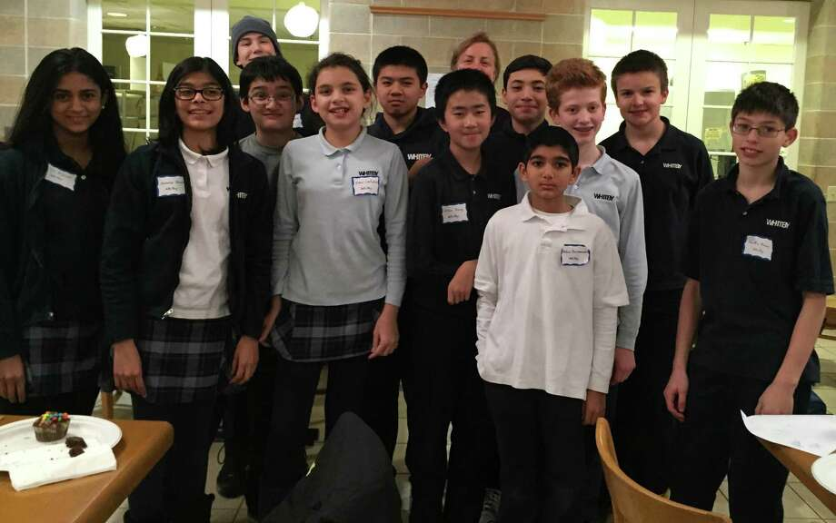 Whitby School's math squad has qualified in the team category for the state MATHCOUNTS competition and also includes two students who qualified individually for the competition. Photo: Contributed Photo