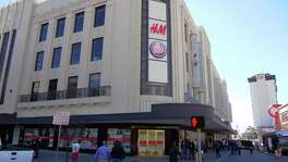 H&M and Dave & Buster's are the two main tenants of the new renovation of The Shops at Rivercenter, which has a new entrance to H&M at the corner of Blum Street and Alamo Plaza.