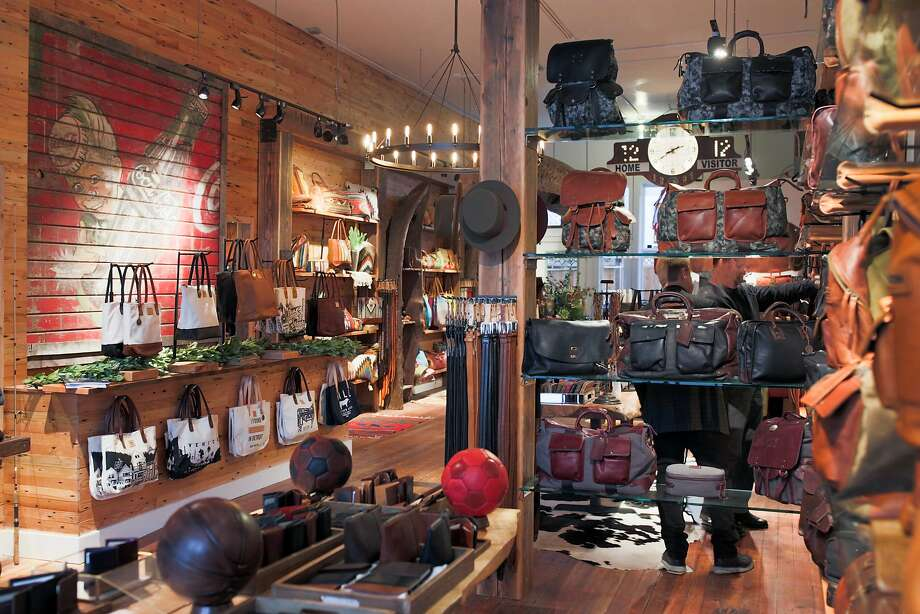 Will Leather Goods, an Oregon-based company, recently opened at 568 Hayes St. in San Francisco and offers artisanal goods made with materials found around the globe, from backpacks to handbags and totes to Oaxacan rugs and quilts from India. Photo: Courtesy Of Will Leather Goods