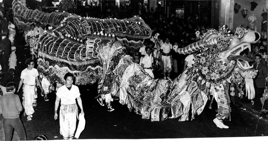 Chinese New Year celebration in San Francisco Chinatown.  Photo by John McBride Photo: John McBride, SFC