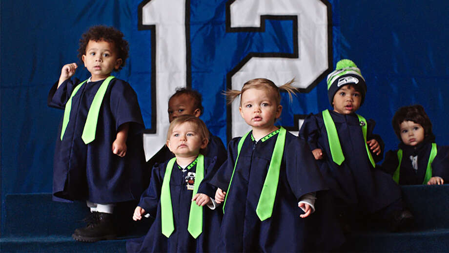 """The NFL scored with an ad on """"Super Bowl Babies,"""" those born in cities nine months after a Super Bowl win, such as these from Seattle. Photo: PRNewsFoto /NFL / National Football League (NFL)"""