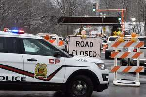 Route 67 closed after truck hits Ballston railroad bridge - Photo