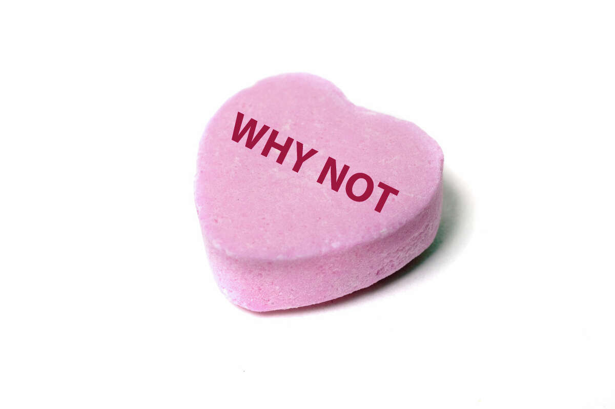 Nothing says romance like not having other options. To keep current, the popular Valentine's candy, Sweethearts, retires phrases each year.Click the gallery to see some of the more notable retired sayings.