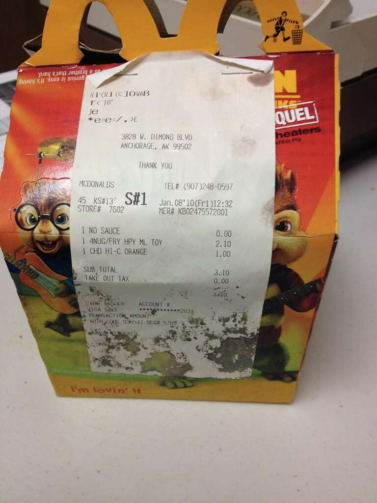 Alaska chiropractor Jennifer Lovdahl held onto a McDonald's Happy Meal for  six years to prove to