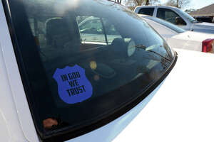 SETX cops contemplate adding religious symbols to cars - Photo