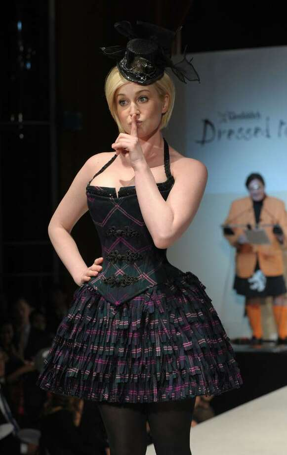 "NEW YORK - APRIL 05: Singer Kellie Pickler walks the runway at the 8th annual ""Dressed To Kilt"" Charity Fashion Show presented by Glenfiddich at M2 Ultra Lounge on April 5, 2010 in New York City.  (Photo by Andrew H. Walker/Getty Images) *** Local Caption *** Kellie Pickler Photo: Andrew H. Walker, Getty Images / 2010 Getty Images"