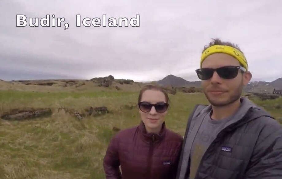 Justin Greak, who teaches math and science at Foster Elementary School in Kingwood, and his wife, Christina Greak, who works in insurance, put together a video of 360-degree selfies from two years of world travel, February 2016. Photo: Screen Shots Via YouTube / Justin Greak