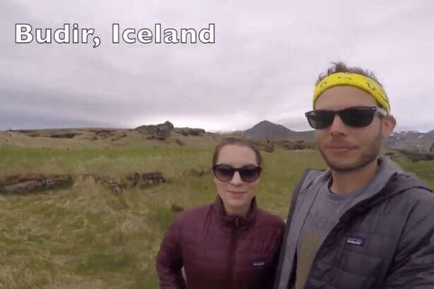Justin Greak, who teaches math and science at Foster Elementary School in Kingwood, and his wife, Christina Greak, who works in insurance, put together a video of 360-degree selfies from two years of world travel, February 2016.