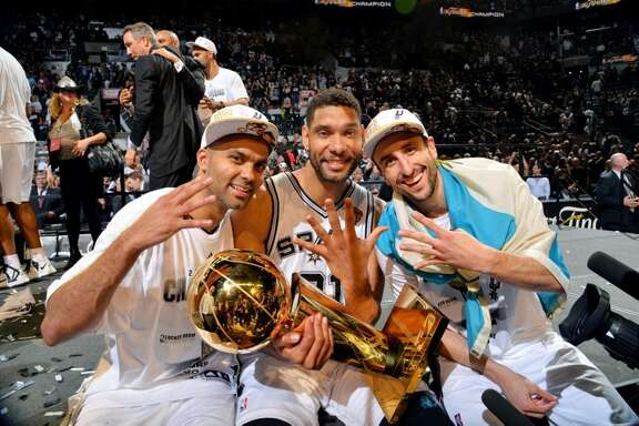 The Spurs' big three are getting more and more recognition by entertainment shows.