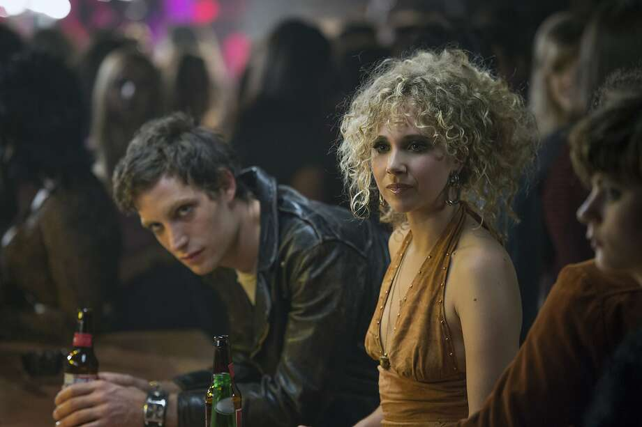 """James Jagger and Juno Temple in """"Vinyl."""" Photo: Hbo, TNS"""