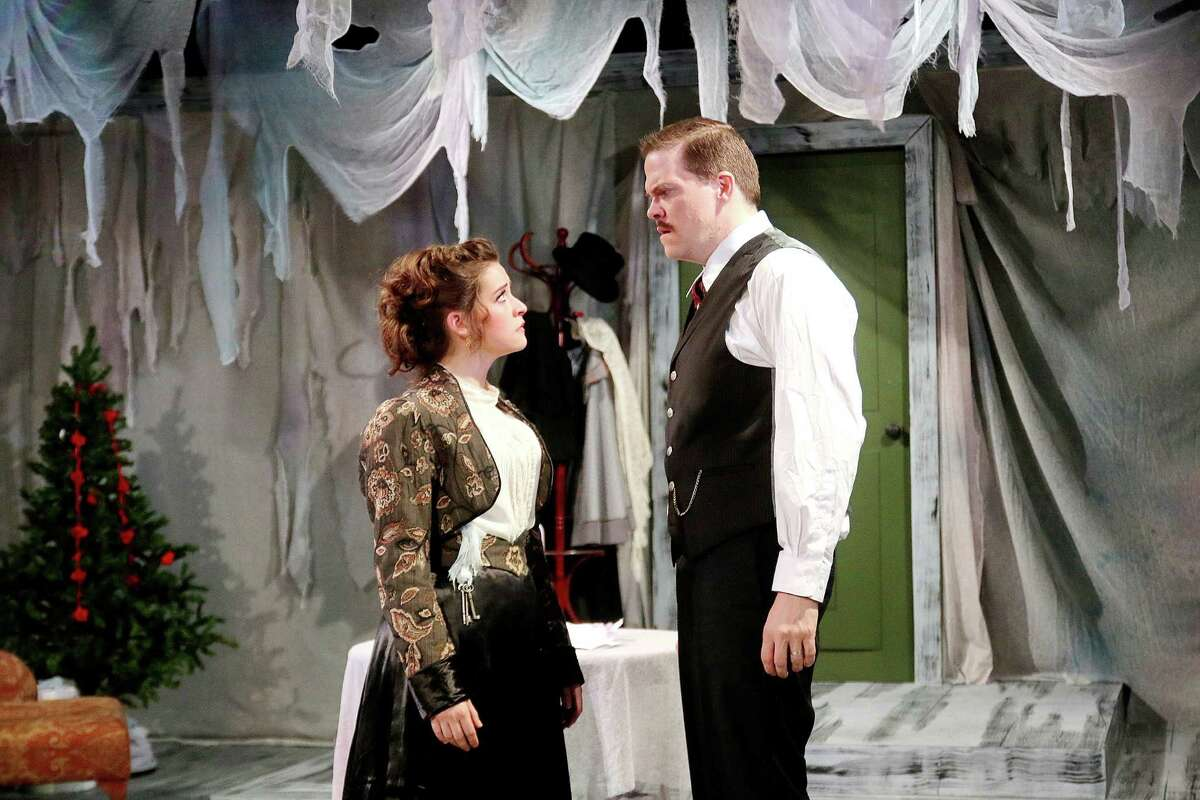 """Shanae'a Moore stars as Nora and Kregg Dailey as Torvald in """"A Doll's House"""" at Classical Theatre Company."""