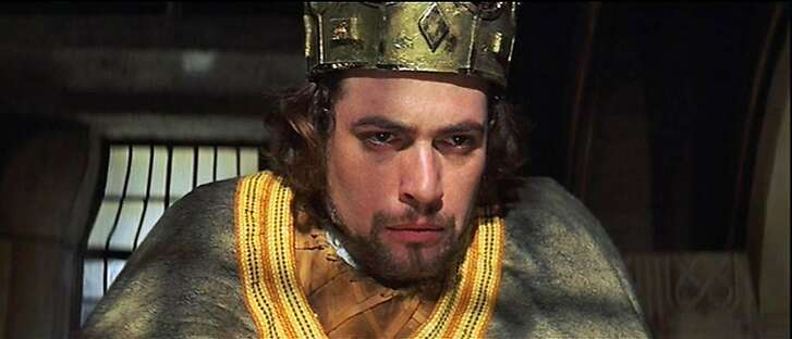 "Jon Finch as the title character in Roman Polanski's 1971 film of ""Macbeth."""
