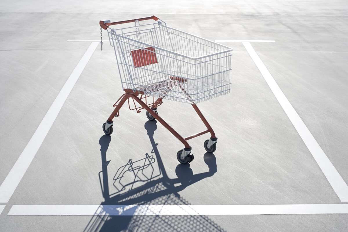 Quit leaving your grocery store carts in the parking lot.   It's an inconvenience for everyone.