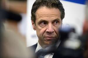 Watch: Cuomo talks Hoosick Falls outside Court of Appeals - Photo