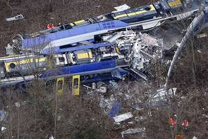 Trains collide in Germany, killing 10, injuring 80 - Photo