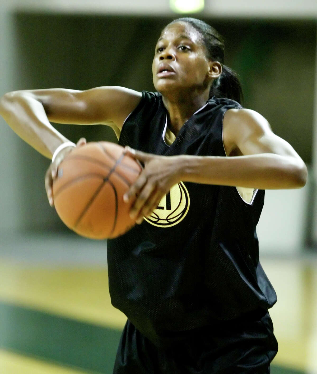 Clear Brook alumna Chameka Scott, who also starred for Baylor's 2005 NCAA championship team, was honored by the school last week both for her sterling career on the court and her successful fight against cancer.