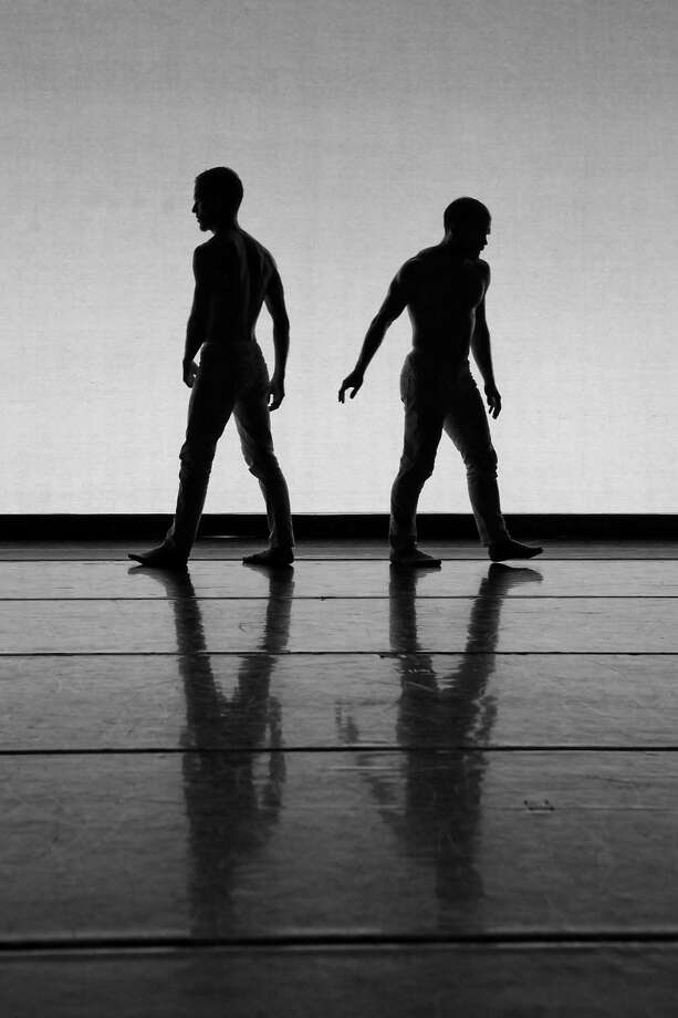 "James Graham and Sebastian Grubb in ""Homeroom."" Photo: Yvonne Portra"