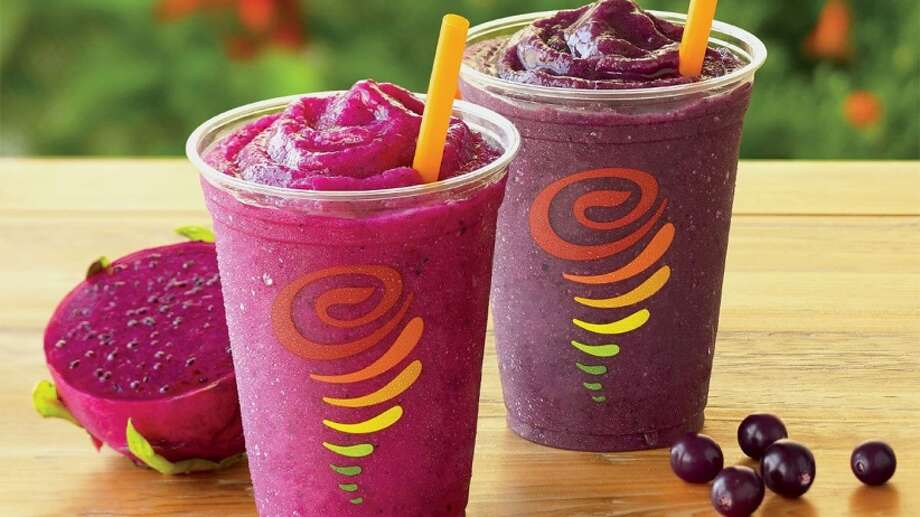The owner of Jamba Juice, which makes specialty beverage and food items including fruit smoothies, will move its headquarters from Emeryville to a Dallas suburb over the next six months, the company announced. Photo: Jamba Juice | Facebook