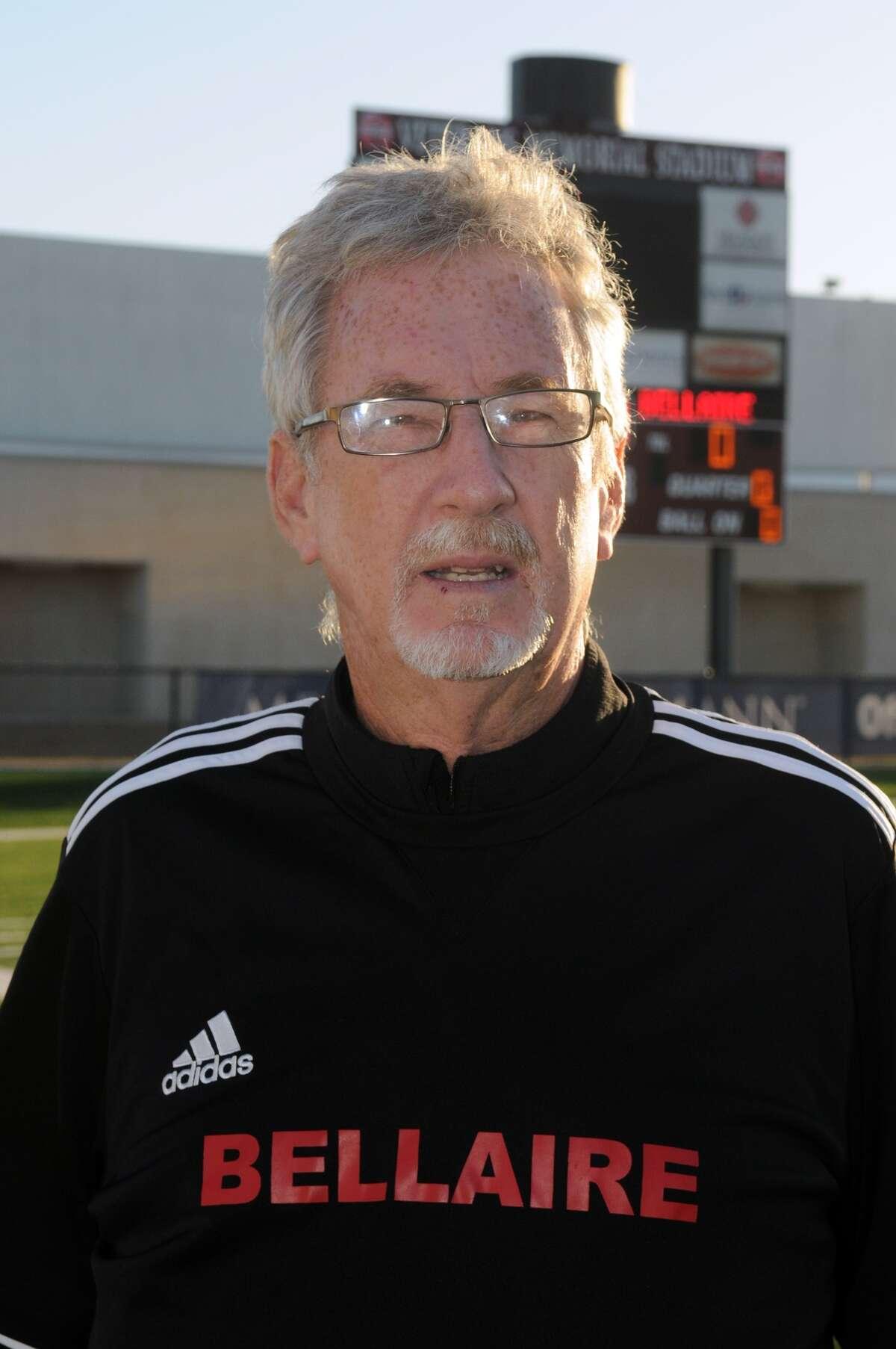 Bellaire Head Boys Soccer Coach Doug Harrison