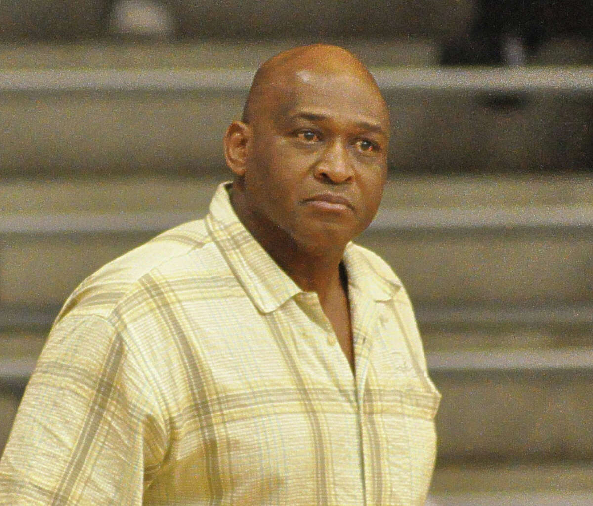 Anthony Fields is the head coach of the Madison High School girls varsity basketball team. Photo by Ernie Chan