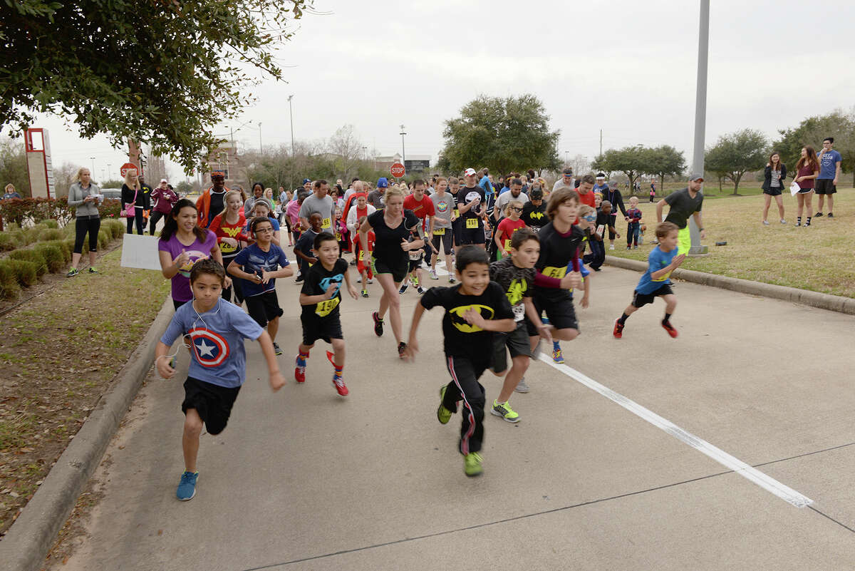 The third annual Superintendent's Fun Run, set for Feb. 27, is a superhero-themed event that raises funds the Cy-Fair Educational Foundation. Last year's event raised more than $40,000.