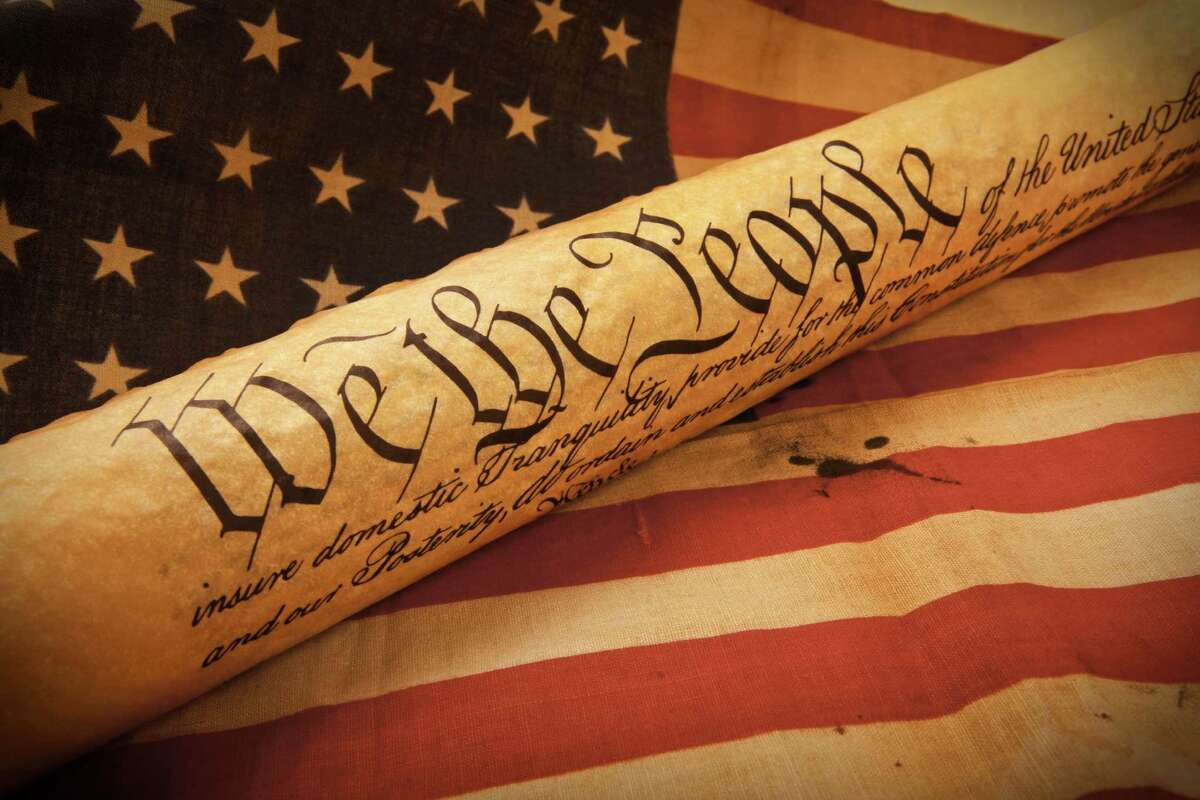 """The United States Constitution The U.S. Constitution wasn't drafted in Connecticut, but The Fundamental Orders was. The Orders were adopted on January 14, 1639 and are still debated as the first drafted constitution in America. But it did lead to Connecticut's nickname as """"The Constitution State."""" Source: ConnecticutHistory.org"""