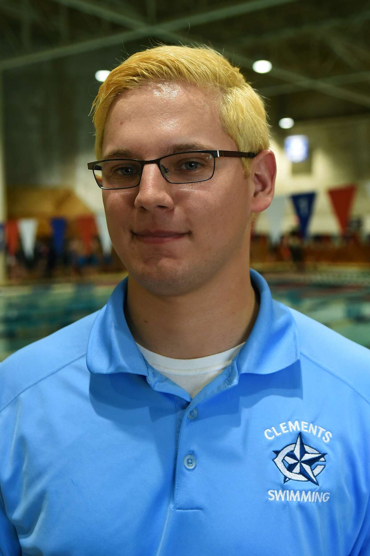 Clements Head Swim Coach Matt Tomas