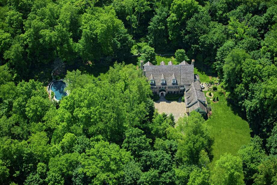 This Ferris Hill Road home in New Canaan has 10,000 square feet of living space on 2.6 acres of property. Photo: Stefen Turner / ©2014 Stefenturner.com / ©2014 Stefen Turner