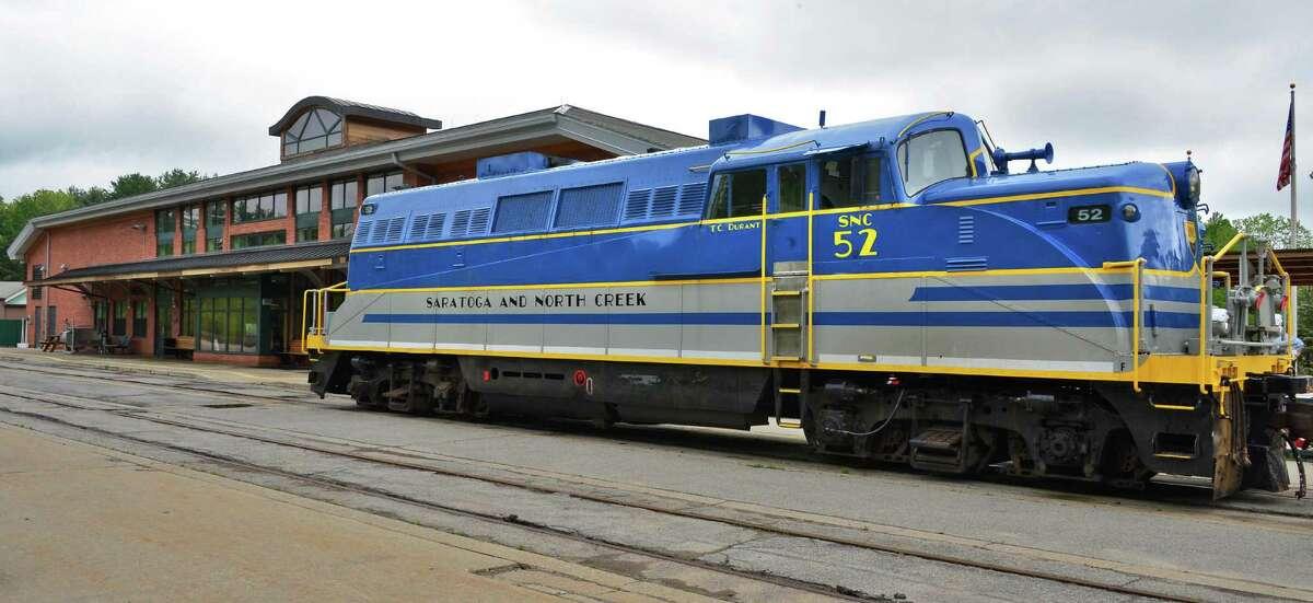 Saratoga and North Creek Railway's 1947 locomotive