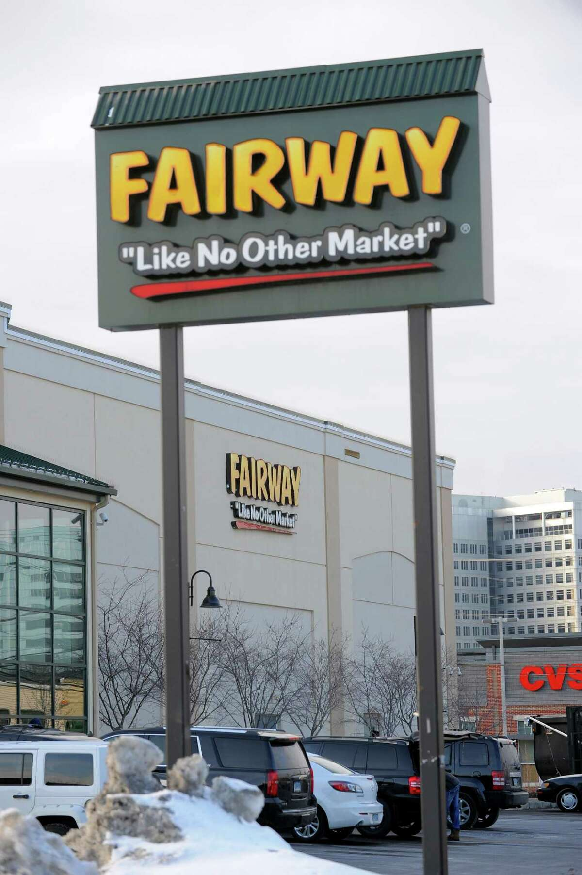 An exterior shot of Fairway at 699 Canal Street in Stamford, Conn. on Feb 9, 2016.