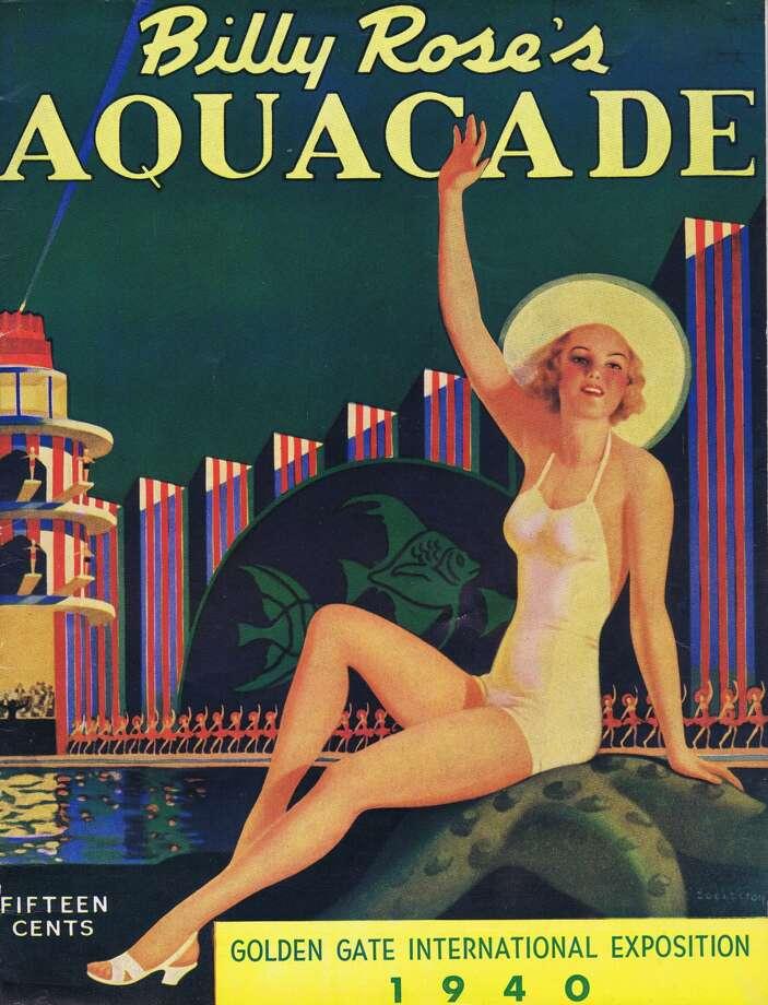 1939 Golden Gate International Exposition Billy Rose Aquacade souvenir booklet. From the collection of Bob Bragman Photo: Bob Bragman