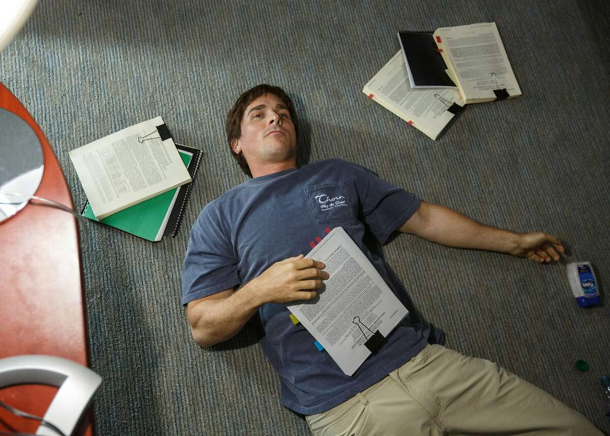 """GO BIG Author Michael Lewis mused in these pages before """"The Big Short"""" was released or even reviewed that, despite its complex subject matter and its aspirations to educate, the film could make a $100 million. Lewis thought this might be because of its humor and its star-studded cast, including the Oscar-nominated Christian Bale (pictured). As of this writing, its worldwide gross: $112 million, and poised for a possible Oscar bump. Photo by Jaap Buitendijk / Courtesy of Paramount Pictures"""