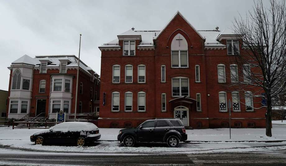 Exterior view of the St. Augustine School on 4th Avenue Feb. 9, 2015 in Troy, N.Y.     (Skip Dickstein/Times Union) Photo: SKIP DICKSTEIN / 10035341A