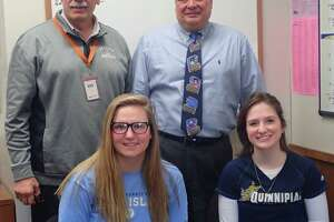 Danbury High athletes finalize Division-I college plans - Photo