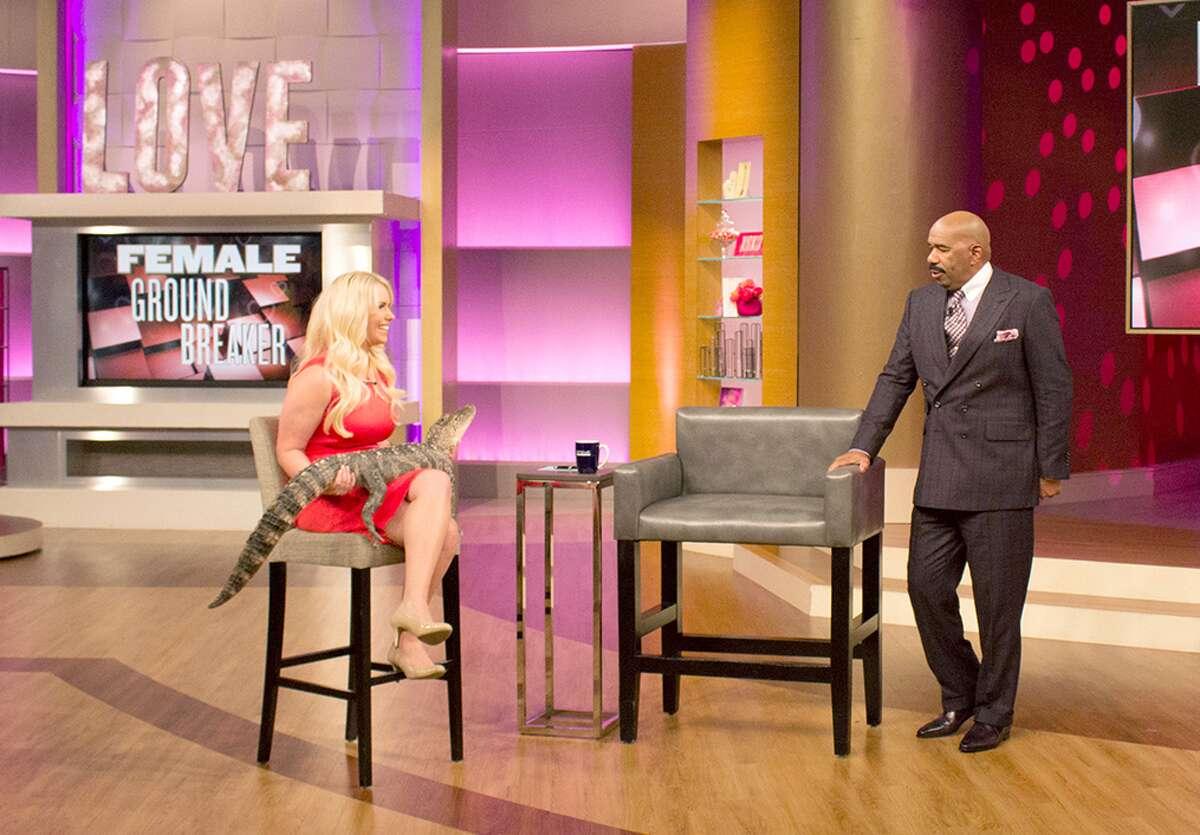 Christy Kroboth on The Steve Harvey Show
